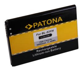 Patona Accu Batterij LG BL-53YH - 3000mAh 3,8V