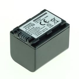Originele OTB Accu Batterij Sony NP-FH70 - 1300mAh
