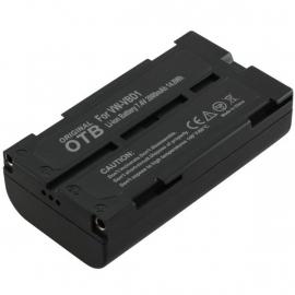 Originele OTB Accu Batterij Panasonic VW-VBD1 e.a.- 2000mAh OP=OP