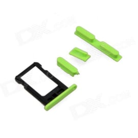 Sim Tray + Volume/Power/Mute Switch Button Keys Apple IPhone 5C