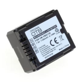 OTB Accu Panasonic DMW-BLA13 / VW-VBG070 / VW-VBG130 - 1100mAh