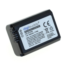 Digibuddy Accu Batterij Sony NP-FW50 - 7.4V 1050mAh