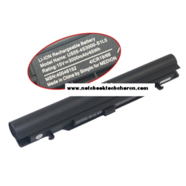 Accu Batterij Medion Akoya S6615 - 15V 3000mAh