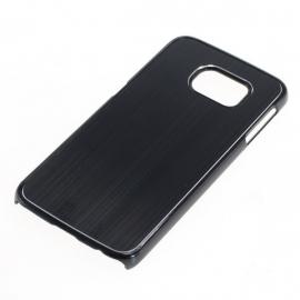 Backcover Samsung Galaxy S6 Edge - Zwart OP=OP