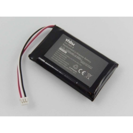 VHBW Accu Batterij Infant Optics DXR-8 Video - 1200mAh 3.7V SP803048