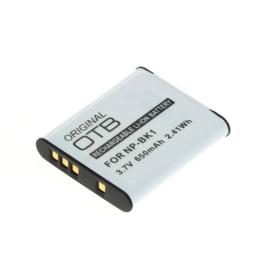 Original OTB Accu Batterij Sony NP-BK1 - 650mAh