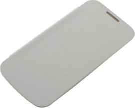 OTB Bookstyle Case Samsung Galaxy S4 Mini - Wit / Ultra dun