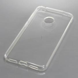 OTB TPU hoesje voor Huawei P8 Lite 2017 - Vol Transparant