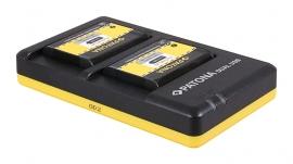 Patona USB Dual Quick Charger voor de Accu vd Nikon EN-EL23