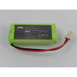 VHBW  Accu Batterij voor V-Tech DM222 - 800mAh 2.4V