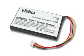 Accu Batterij voor Navman F20 - 850mAh
