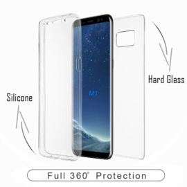 360º Protection TPU Case + Glas voor Samsung Galaxy S10