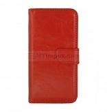 Bookstyle Case hoesje Sony Xperia E4 - Rood