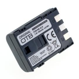 Original OTB Accu Batterij Canon NB-2LH NB-2L - 650mAh