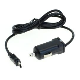 2,4A / 5V Autolader Mini-USB - Zwart