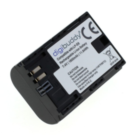 Digibuddy Accu Batterij Canon LP-E6 / LP-E6N - 1600mAh