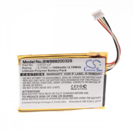 Accu Batterij JBL Clip 3 3AN 3SAND L0721-LF CS-JMC300SL 1000mAh