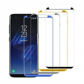 5D 9H Protectieglas Samsung Galaxy S9 SM-G960 - CURVED Wit