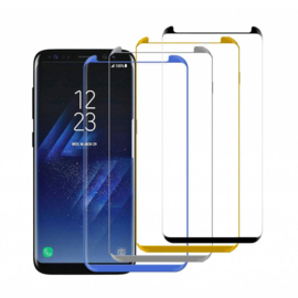 5D 9H Protectieglas Samsung Galaxy S9 SM-G960 - CURVED Transparant