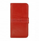 Bookstyle Case hoesje Sony Xperia XZ - Rood