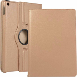 "Tablethoes Apple iPad 2019 10.2"" - 360° Draaibaar - Goud"