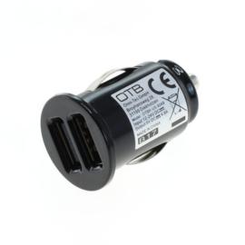 Auto oplaadadapter USB  dubbele USB - 4,8A met Auto-ID