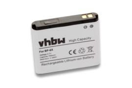 VHBW Accu Batterij Nokia 8800 Sirocco  - 700mAh BP-6X