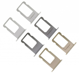 Simkaarthouder SIM Tray voor Apple IPhone 6 / 6G - Goud