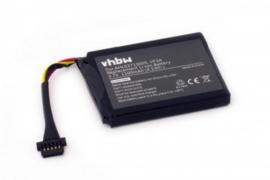 VHBW Accu Batterij TomTom VF3A AHL03713005 - 1100mAh