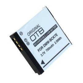 OTB Accu Batterij Panasonic DMW-BCK7 DMW-BCK7E - 700mAh