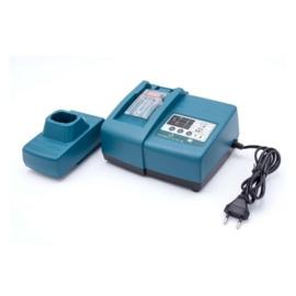 Elektronische oplader Makita accu's 7,2V 9,6V 12V 14,4V 18V (ook schuif)
