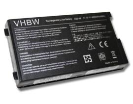 VHBW Accu Batterij voor Asus A32-A8 - 4400 mAh 11.1V