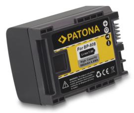 Patona Accu Batterij Canon BP-808 - 890mAh