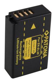 Patona Accu Batterij Hähnel HL-EL20 Hahnel EL-EL20 - 800mAh