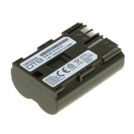 OTB Accu Batterij Canon BP-508 BP-511 BP-512 - 1400mAh