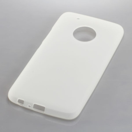 TPU Case voor Moto G5 Plus - Transparant