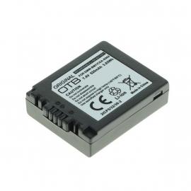 Original OTB Accu Batterij Panasonic DMW-BM7 / CGA-S002 520mAh
