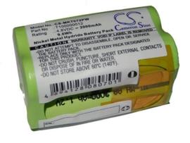 4.8V Accu Batterij Makita 6722DW - 2000mAh Ni-MH 9.6Wh