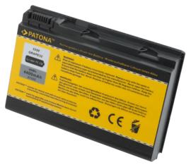 Patona Accu Batterij voor TravelMate 5310 e.a. - 11,1V 4400mAh
