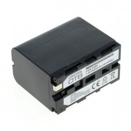 Original OTB Accu Batterij Sony NP-F960 NP-F970 - 6600mAh