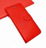 Telefoonhoesje Apple iPhone XS met insteekvakjes - Rood