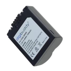 Digibuddy Accu Batterij Panasonic CGR-S006 / BMA7 - 750mAh 7.4V
