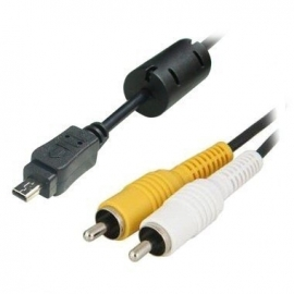 Plug&Play Mono AV Audio Video Kabel voor Sony Cyber-Shot