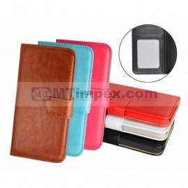 Stylish Book hoesje LG Bello 2 / LG Bello II - Bruin