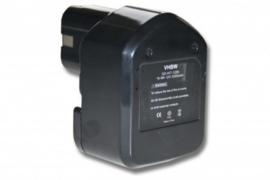 VHBW Accu Batterij Hitachi EB1224 - 12V 3300mAh