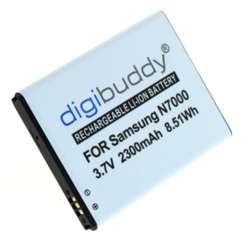 Digibuddy Accu Batterij Samsung Galaxy Note 1 - 2300mAh