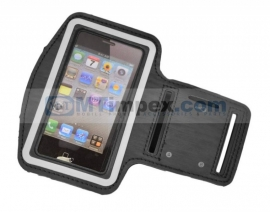 Sport Armband voor Apple iPhone 5 / Iphone 5s - Zwart (MT7196456)