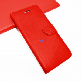 Bookstyle Case hoesje Samsung Galaxy S6 Edge - Rood