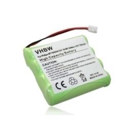 VHBW Accu Batterij Philips SBC-EB4880 A1507 - 700mAh 4.8V