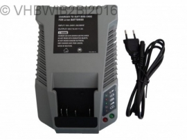 VHBW Laadstation Bosch Accu Batterij 14.4 ~ 18V Li-Ion